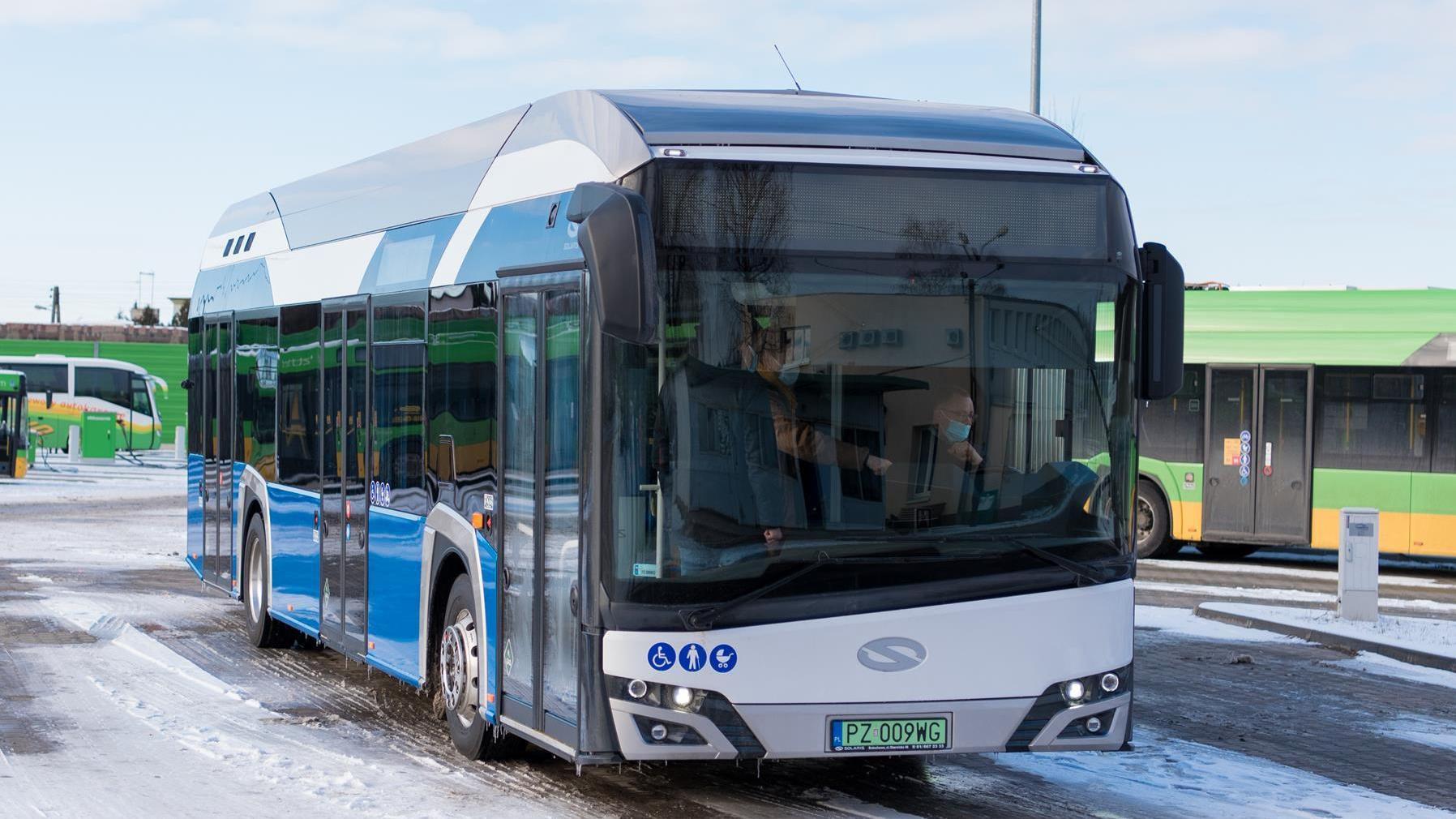 MPK Poznań wnioskuje o dofinansowanie do zakupu autobusów napędzanych wodorem