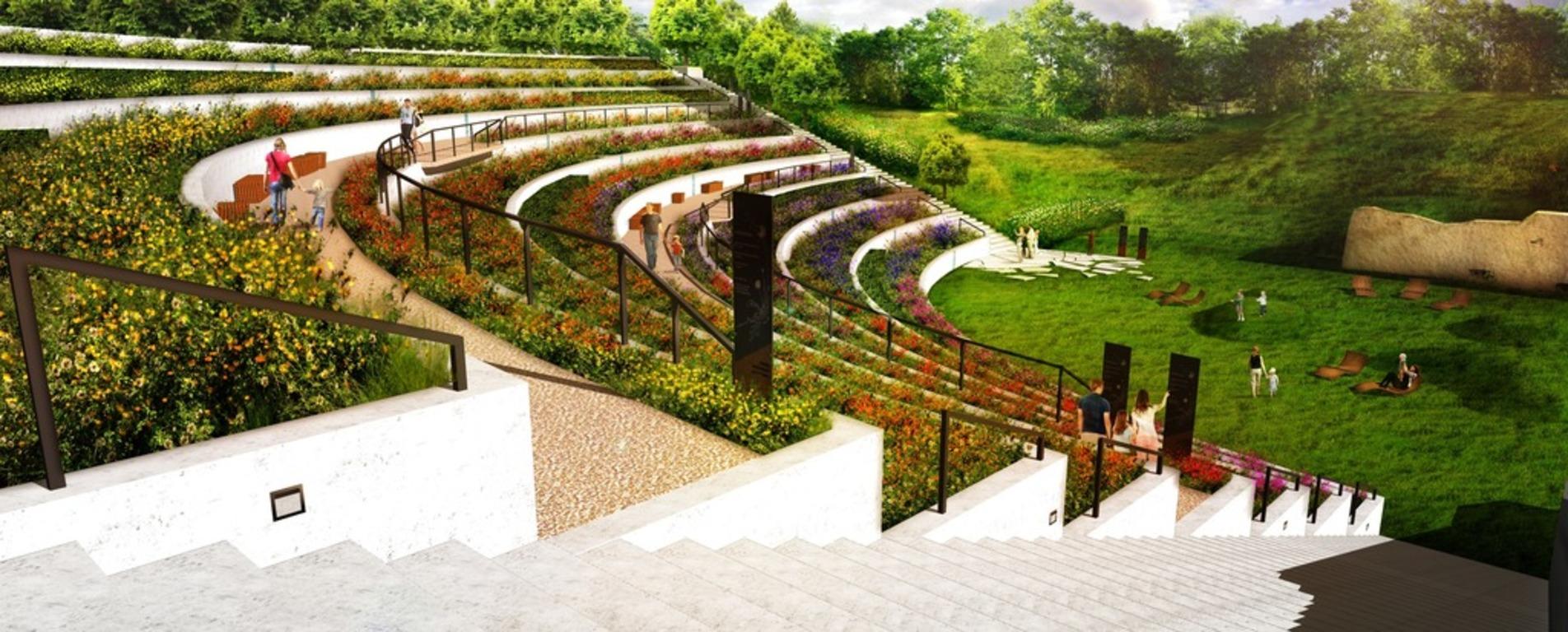 Ogród miododajny zamiast dawnego amfiteatru – pierwszy tego typu projekt powstanie na poznańskiej Cytadeli