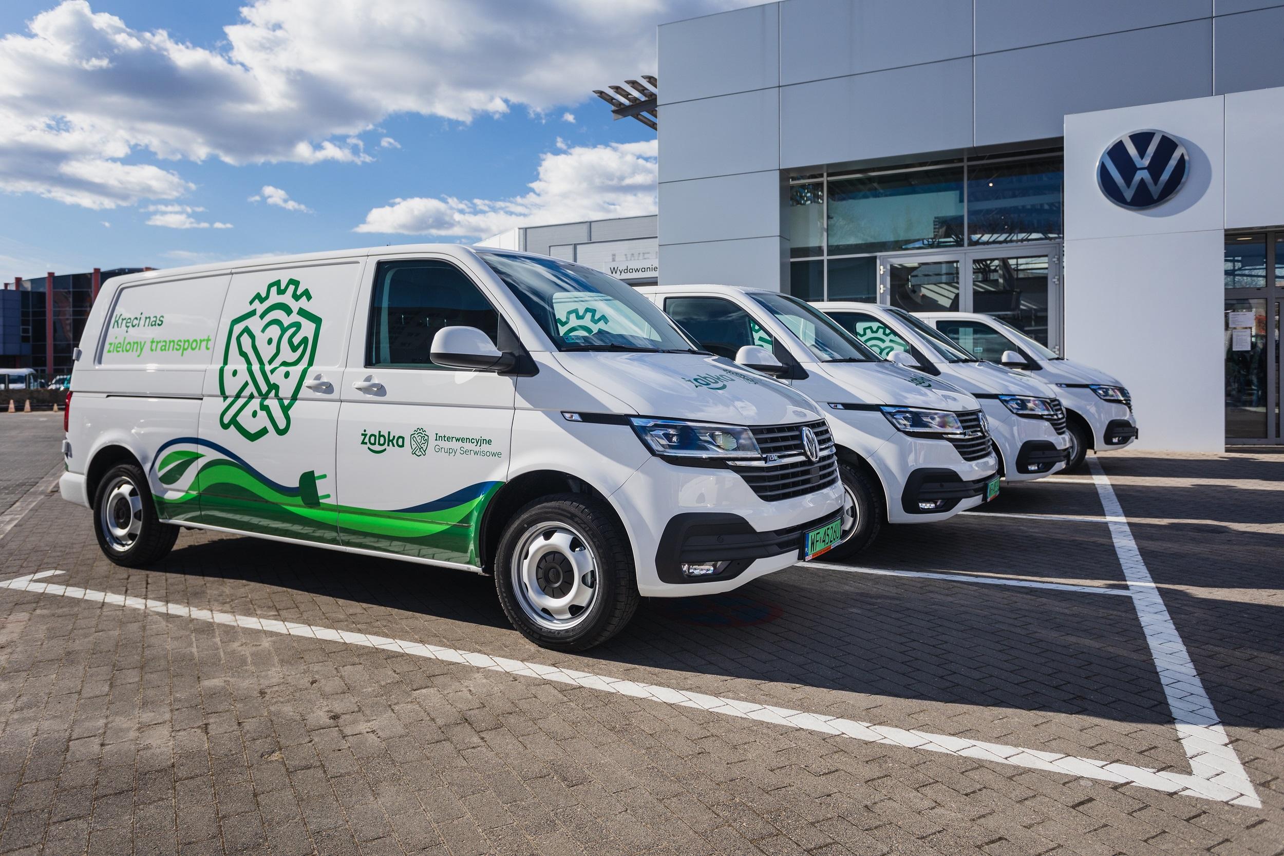 Żabka kontynuuje współpracę z Volkswagen Samochody Dostawcze