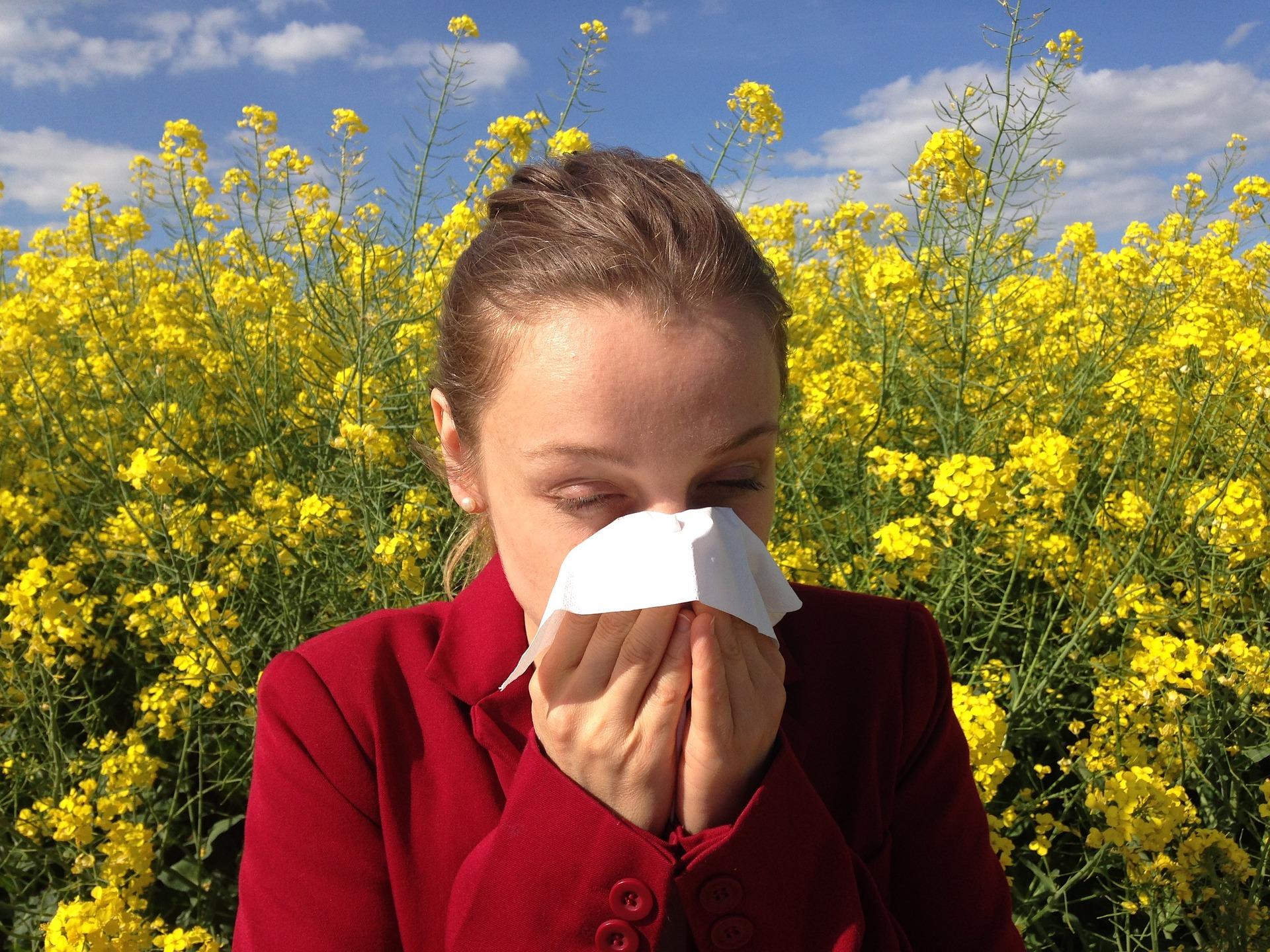 Alergia na pyłki: sposoby na łzawiące i szczypiące oczy