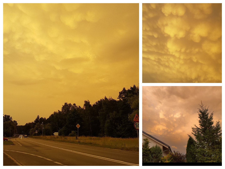 Żółte niebo nad Poznaniem i okolicznymi miejscowościami. Skąd się wzięło?