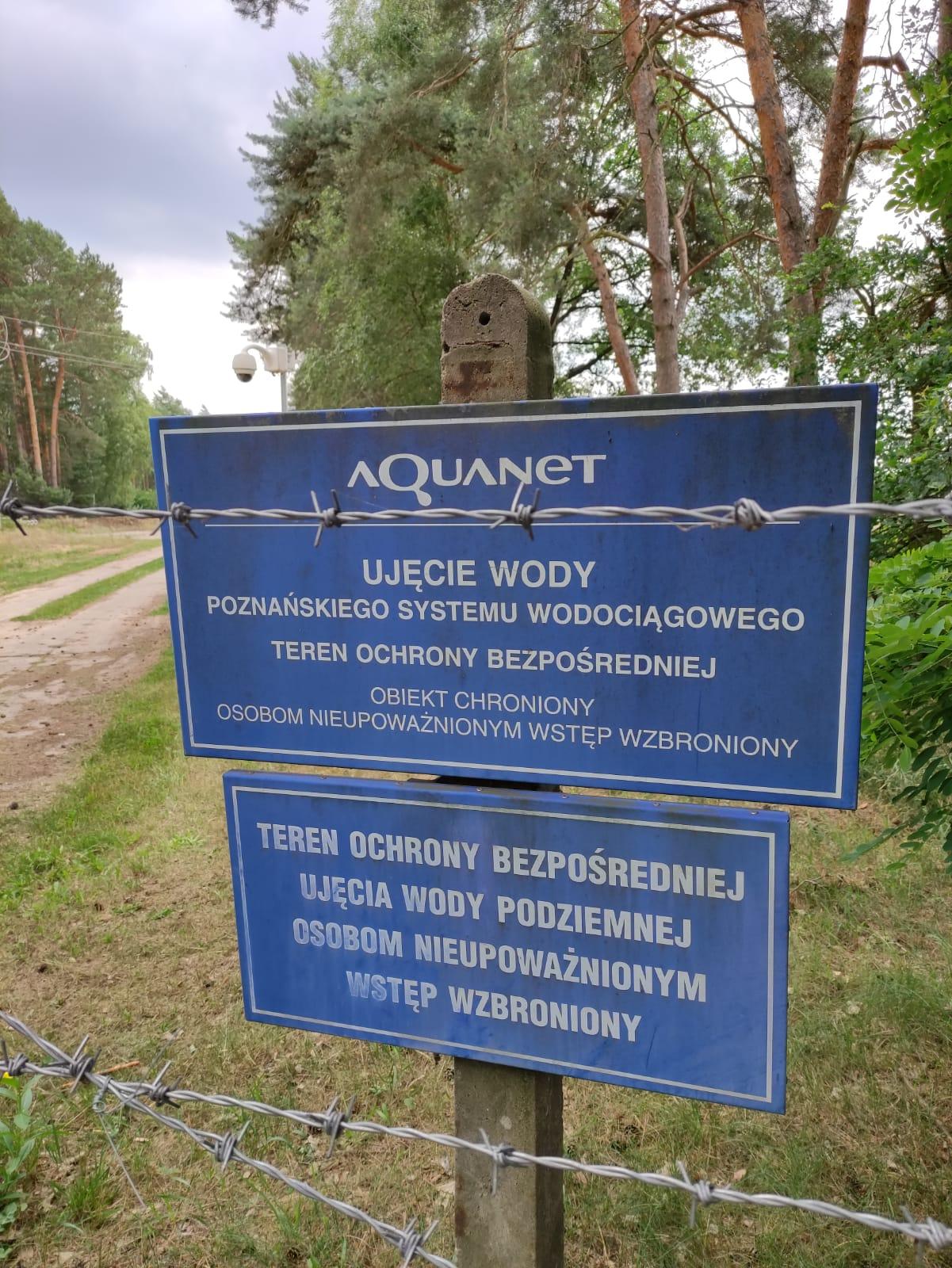 Wykonawca prac na terenie Ujęcia Wody odpowiada na działania Aquanetu