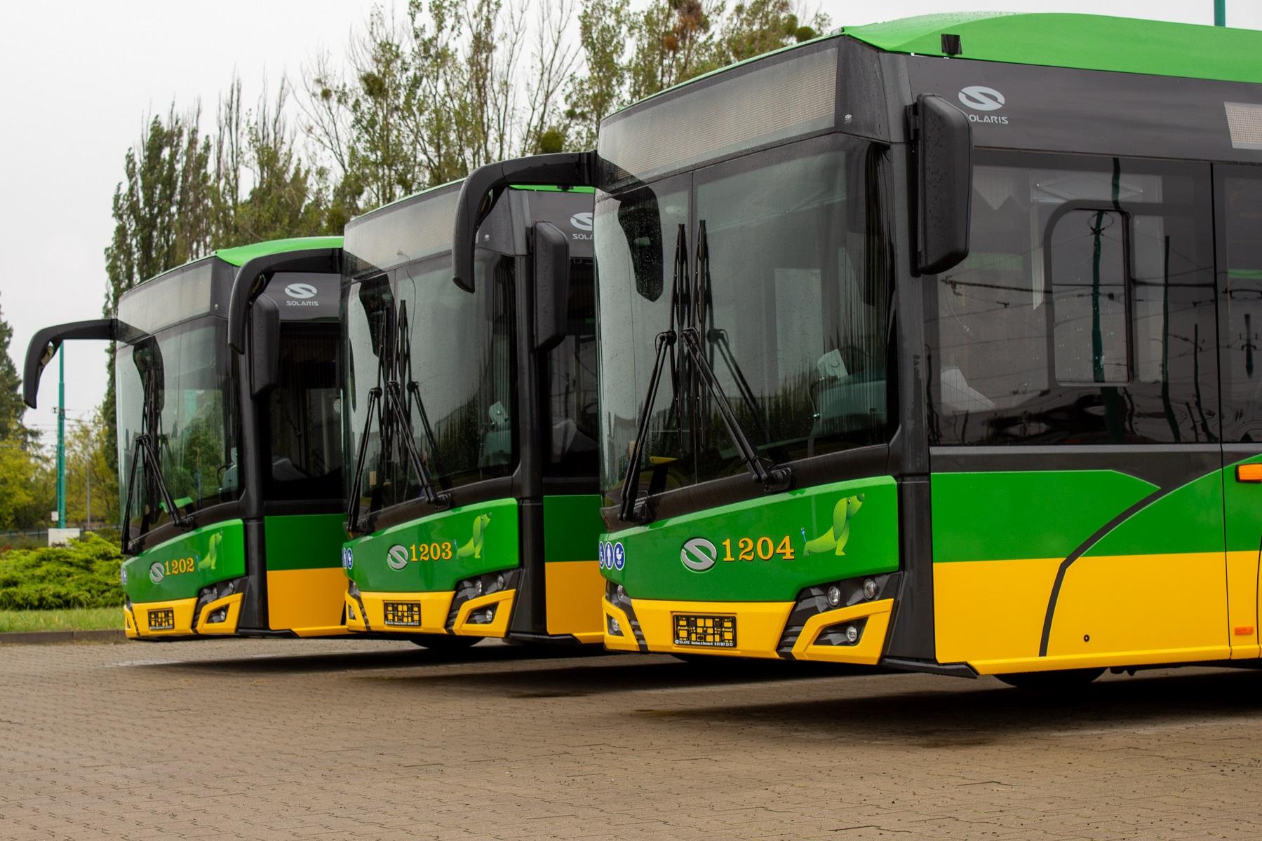 Kolejne autobusy elektryczne zasiliły flotę MPK Poznań